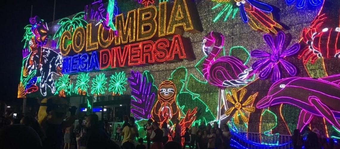 Colombia Christmas Lights 2018